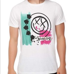 Blink-182 Colorful Band Tee Hot Topic